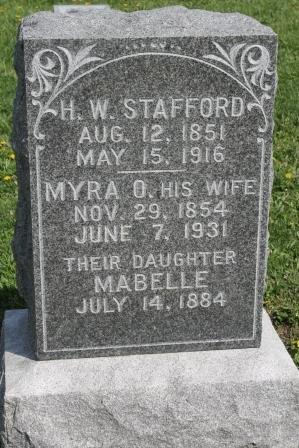 STAFFORD, HORACE WILBUR - Des Moines County, Iowa | HORACE WILBUR STAFFORD