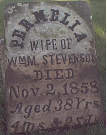 STEVENSON, PERMELIA - Des Moines County, Iowa | PERMELIA STEVENSON