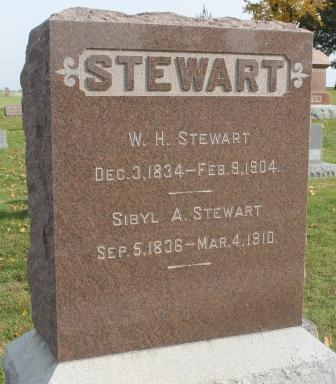 HIGLEY STEWART, SIBYL A. - Des Moines County, Iowa | SIBYL A. HIGLEY STEWART
