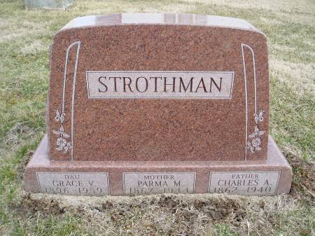 OBERMAN STROTHMAN, PARMA M - Des Moines County, Iowa | PARMA M OBERMAN STROTHMAN