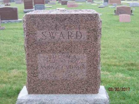 SWARD, ANNA A. - Des Moines County, Iowa | ANNA A. SWARD