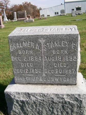 SWYGARD, STANLEY F. - Des Moines County, Iowa | STANLEY F. SWYGARD