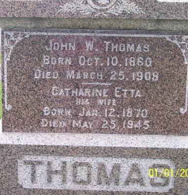 THOMAS, JOHN W. - Des Moines County, Iowa | JOHN W. THOMAS