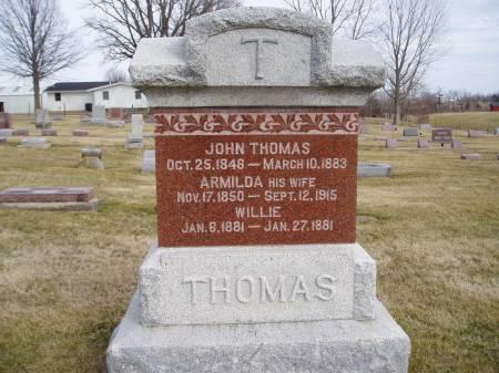 THOMAS, ARMILDA - Des Moines County, Iowa | ARMILDA THOMAS