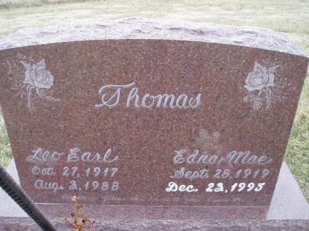 GRANAMAN THOMAS, EDNA MAE - Des Moines County, Iowa | EDNA MAE GRANAMAN THOMAS