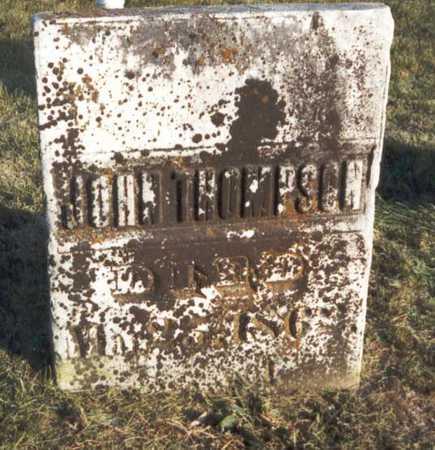 THOMPSON, JOHN - Des Moines County, Iowa | JOHN THOMPSON