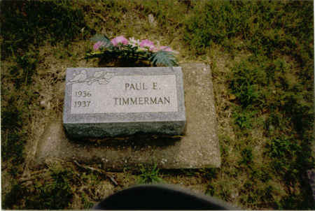 TIMMERMAN, PAUL EUGENE - Des Moines County, Iowa | PAUL EUGENE TIMMERMAN