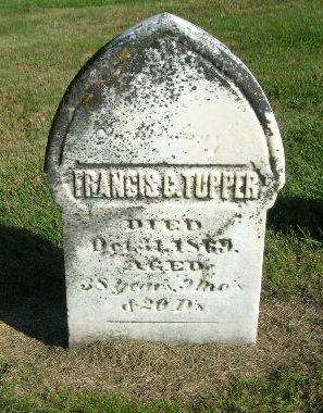 TUPPER, FRANCIS C. - Des Moines County, Iowa | FRANCIS C. TUPPER