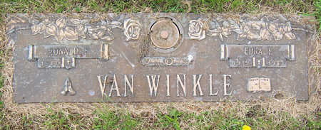 VAN WINKLE, EDNA F. - Des Moines County, Iowa | EDNA F. VAN WINKLE