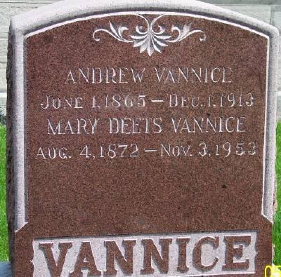 VANNICE, ANDREW - Des Moines County, Iowa | ANDREW VANNICE