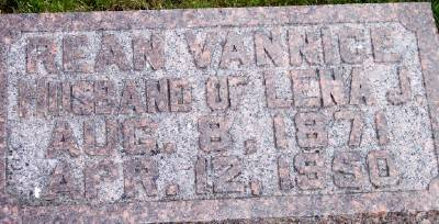 VANNICE, REAN - Des Moines County, Iowa | REAN VANNICE