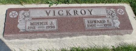VICKROY, EDWARD F. - Des Moines County, Iowa | EDWARD F. VICKROY