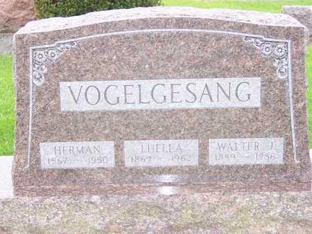VOGELGESANG, LUELLA - Des Moines County, Iowa | LUELLA VOGELGESANG