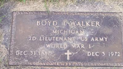 WALKER, BOYD I. - Des Moines County, Iowa   BOYD I. WALKER