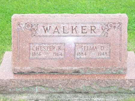 WALKER, SELMA D. - Des Moines County, Iowa | SELMA D. WALKER