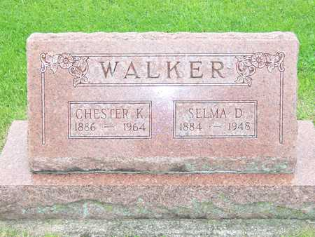 WALKER, CHESTER K. - Des Moines County, Iowa | CHESTER K. WALKER
