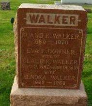 WALKER, ELNORA - Des Moines County, Iowa | ELNORA WALKER