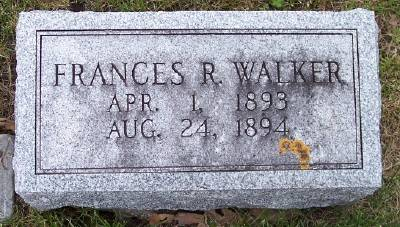 WALKER, FRANCES R. - Des Moines County, Iowa | FRANCES R. WALKER