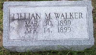 WALKER, LILLIAN M. - Des Moines County, Iowa | LILLIAN M. WALKER