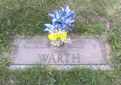 WARTH, ESTHER MARIE - Des Moines County, Iowa   ESTHER MARIE WARTH