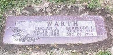 WARTH, LUCIAN S. - Des Moines County, Iowa | LUCIAN S. WARTH