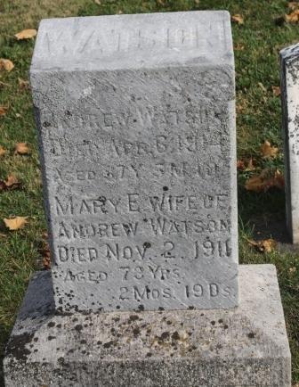 WATSON, MARY E. - Des Moines County, Iowa | MARY E. WATSON