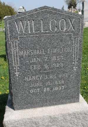 MATHENY WILLCOX, NANCY JANE - Des Moines County, Iowa | NANCY JANE MATHENY WILLCOX