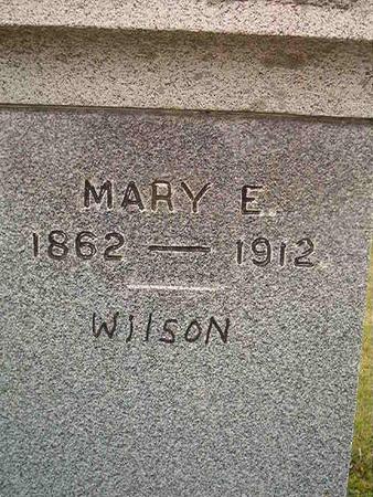WILSON, MARY E. - Des Moines County, Iowa | MARY E. WILSON