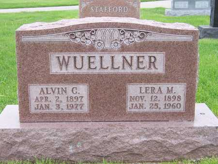 WUELLNER, ALVIN CHRISTIAN - Des Moines County, Iowa | ALVIN CHRISTIAN WUELLNER