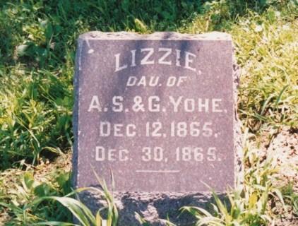 YOHE, LIZZIE - Des Moines County, Iowa   LIZZIE YOHE