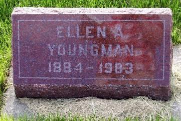 YOUNGMAN, ELLEN A. - Des Moines County, Iowa | ELLEN A. YOUNGMAN