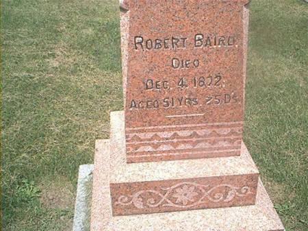 BAIRD, ROBERT - Des Moines County, Iowa   ROBERT BAIRD