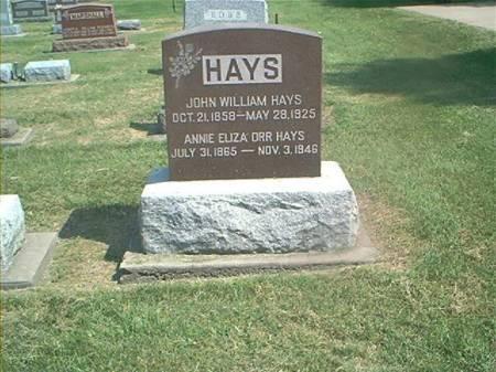 HAYS, JOHN & ANN - Des Moines County, Iowa | JOHN & ANN HAYS