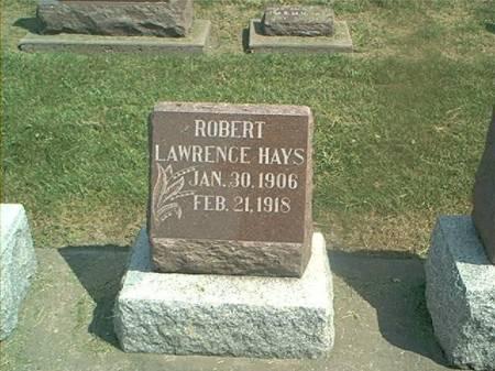HAYS, ROBERT L - Des Moines County, Iowa | ROBERT L HAYS