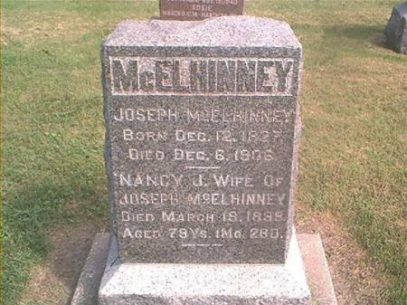 MCELHINNEY, JOSEPH & NANCY - Des Moines County, Iowa | JOSEPH & NANCY MCELHINNEY