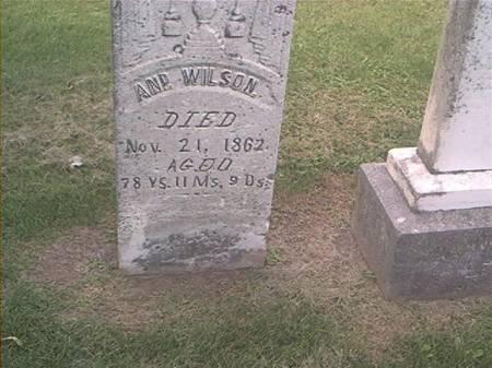 WILSON, ANN - Des Moines County, Iowa | ANN WILSON