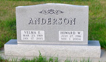 ANDERSON, HOWARD W. - Dickinson County, Iowa | HOWARD W. ANDERSON