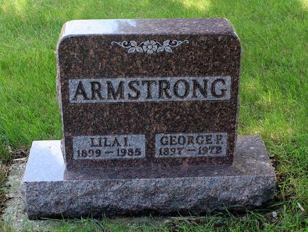 ARMSTRONG, GEORGE F. - Dickinson County, Iowa | GEORGE F. ARMSTRONG