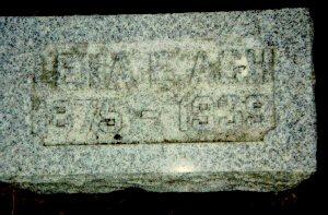 BELOW ASH, LENA E. - Dickinson County, Iowa | LENA E. BELOW ASH