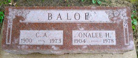 BALOF, ONALEE H. - Dickinson County, Iowa | ONALEE H. BALOF