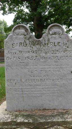 BARTHOLOMEW, MERLE M. - Dickinson County, Iowa | MERLE M. BARTHOLOMEW