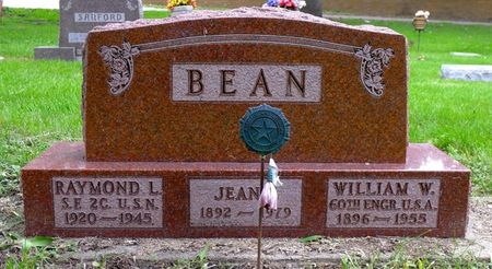 BEAN, JEAN - Dickinson County, Iowa   JEAN BEAN