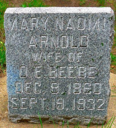 BEEBE, MARY NAOMI - Dickinson County, Iowa | MARY NAOMI BEEBE