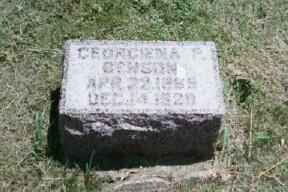 BENSON, GEORGIENA P. - Dickinson County, Iowa | GEORGIENA P. BENSON