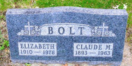 BOLT, ELIZABETH - Dickinson County, Iowa | ELIZABETH BOLT