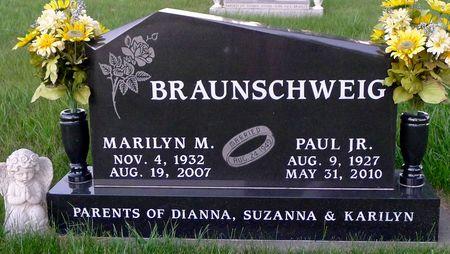 BRAUNSCHWEIG, MARILYN M. - Dickinson County, Iowa | MARILYN M. BRAUNSCHWEIG