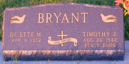 BRYANT, TIMOTHY J. - Dickinson County, Iowa | TIMOTHY J. BRYANT