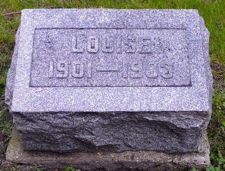 CAIN, LOUISE - Dickinson County, Iowa | LOUISE CAIN