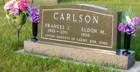CARLSON, FRANCES JEAN - Dickinson County, Iowa   FRANCES JEAN CARLSON
