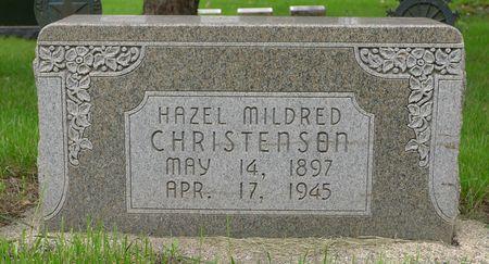 CHRISTENSEN, HAZEL MILDRED - Dickinson County, Iowa | HAZEL MILDRED CHRISTENSEN